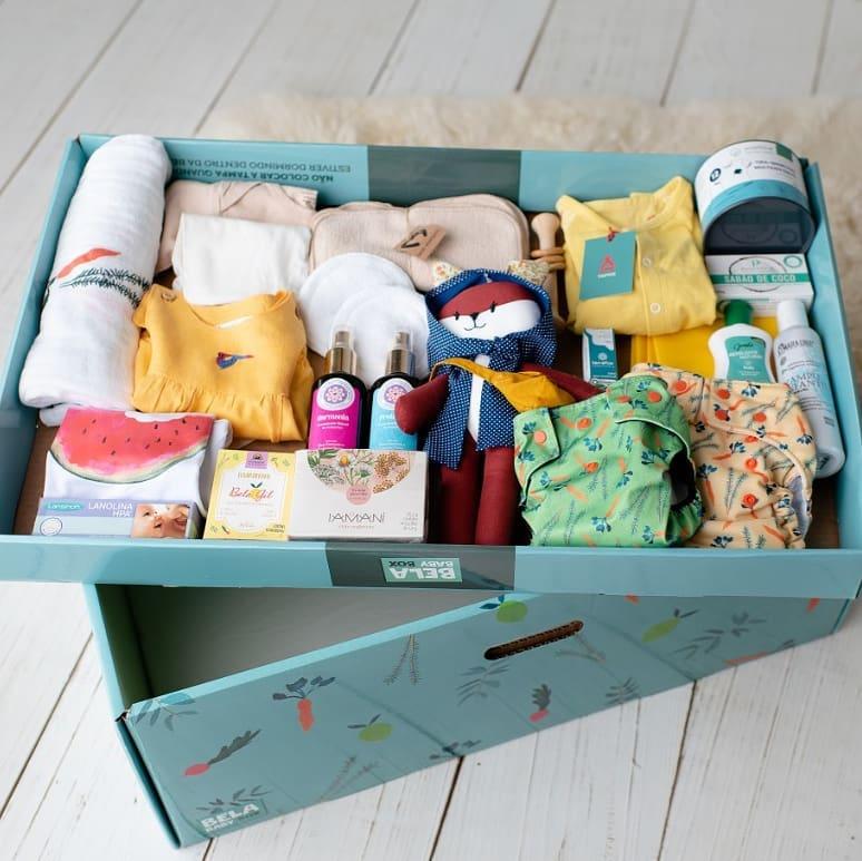 Bela Baby Box, protegendo a infância no início da vida.